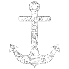 coloring pages anchor 3 colouring pinterest