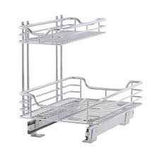 Kitchen Cabinet Towel Holder Cabinet Pull Out Towel Bar Chrome In Kitchen Towel Holders