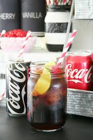 coca cola soda bar and easy game day desserts