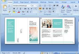word 2013 brochure templates free brochure maker template for ms