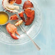 comment cuisiner un homard homards cuits à la vapeur beurre à la fleur d ail et au citron