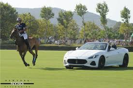 maserati green lechuza caracas polo team wins the maserati silver cup at the 46th