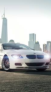 slammed cars iphone wallpaper white bmw 6 series bmw pinterest car wallpapers bmw and cars