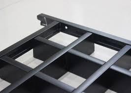 controsoffitto alluminio mattonelle soffitto di griglia metallo della barra dell
