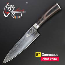 Knives Kitchen Haoye 8 Inch Damascus Kitchen Knives Japanese Stainless Steel