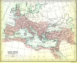 Map Of The Roman Empire Roman Empire Catholic News Agency