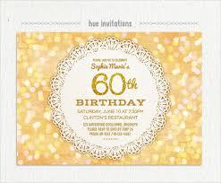 celebrate 60 birthday 22 60th birthday invitation templates free sle exle