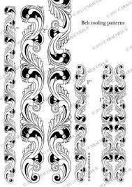 free leather tooling patterns u2026 pinteres u2026
