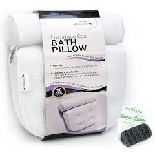 amazon com bath pillows beauty u0026 personal care