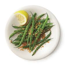 microwave steamed garlic green beans