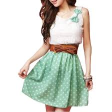 fashion trends casual summer dresses for teenagers combined with