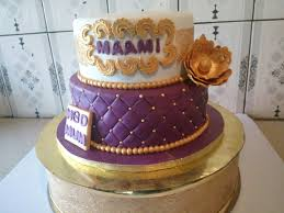 purple u0026 gold 2 tier birthday cake the ibadan store