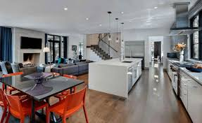 open plan kitchen diner ideas north architects ground rear extension south degrees open plan