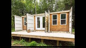 how to build a container home step by step youtube