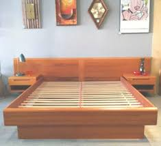 King Size Platform Bed Nightstands Enchanting King Size Platform Ideas With Beautiful