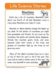 fourth grade reading comprehension worksheets