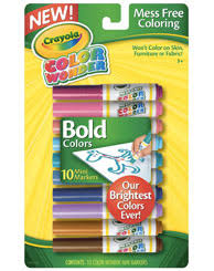 crayola mess free color