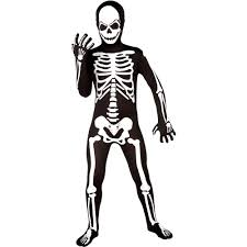 halloween skeleton images skeleton skin suit boys halloween costume walmart com