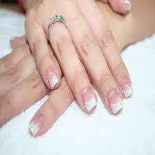 french manicure gel nail designs
