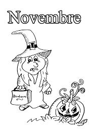 11 novembre  Coloriage Mois de lannée  Coloriages pour enfants