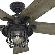 Ceiling Fan With Led Light Channelside 52 In Led Outdoor Noble Bronze
