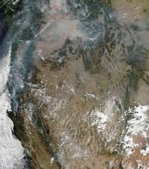 California Wildfire Satellite View by No End In Sight For Western Us Wildfires Earth Earthsky