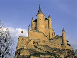 Historical Castles by Alcazar Tower Segovia Spain World Puzzle World Pinterest