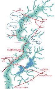 Ohio Rivers Map by Rates U0026 Reservations Ohio Canoe Kayak Rentals