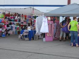 doll clothing vendor booths vendors set up booths outside the