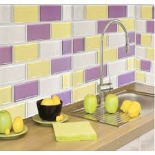 interior self adhesive wall tiles with peel and stick kitchen