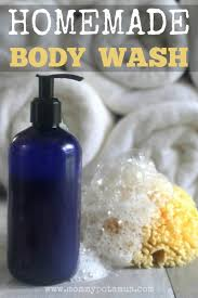homemade body wash recipe