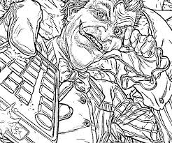 Joker Coloring Pages From Batman 425716 Coloring Pages Joker