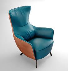 poltrona frau italy mamy blue armchair 3d model