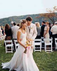 casual wedding a vibrant casual outdoor wedding in tennessee martha stewart