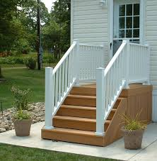 composite deck stairs paint doherty house special ideas for