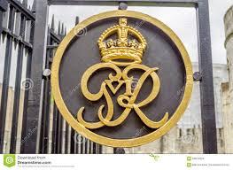 king george vi royal crest logo stock photo image 60614624
