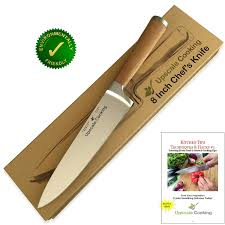 best home kitchen knives amazon com best chef knife 8 inch by upscale cooking