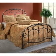 bed frames lillesand bed frame wrought iron headboard ikea solid