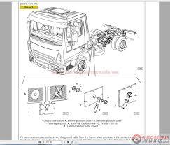 auto repair manuals iveco truck workshop manual technical parts