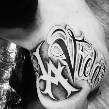 letters tattoo design chicano chicano tattoo pinterest