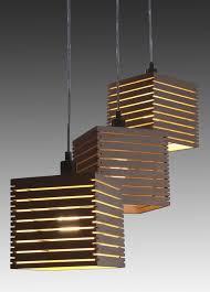 wood slats lamp shades idea for side yard pergola add