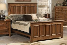 Brown Wood Bed Frame Wood Bed Frame With Storage House Plans Ideas