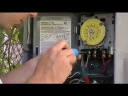 how to put timers on outside lights installing a timer youtube