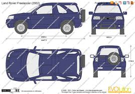 land rover freelander 2006 the blueprints com vector drawing land rover freelander