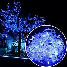 blue christmas lights led blue christmas lights and trees