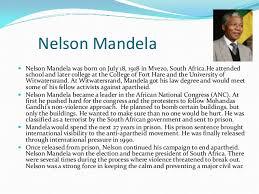nelson mandela his biography biography of final