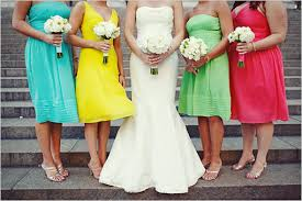 colored bridesmaid dresses colorful bridesmaid dresses the wedding specialiststhe wedding