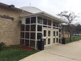 entry vestibule school improves safety with an entry vestibule from porta king