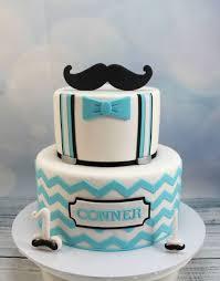 mustache birthday cake chevron and moustache 1st birthday beautiful decorated cake