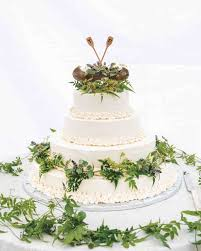 wedding cake greenery 30 rustic wedding cakes we re loving martha stewart weddings